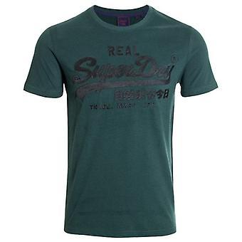 Superdry Vl Borduurwerk T-shirt Pine