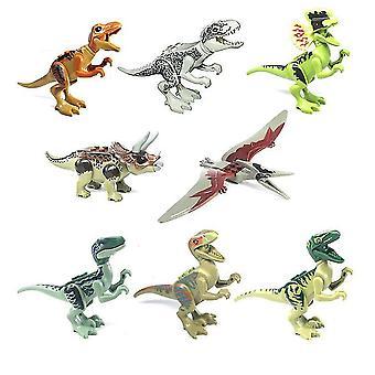 Jurassic Dinosaurs Park - Vauva dinosaurus Maailma Crystal Raptor Pterosaurukset,