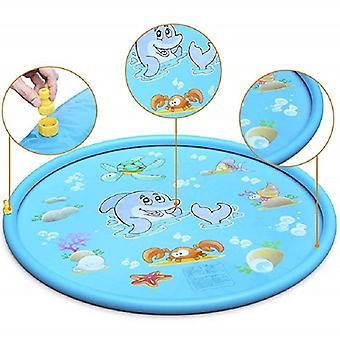 Tappetino per bambini, cuscino di spruzzatura dell'acqua per bambini, piscina per nuotare in vasca all'aperto