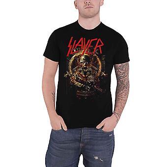 Slayer T Shirt Hard Cover Comic Book Band Logo new Official Mens Black