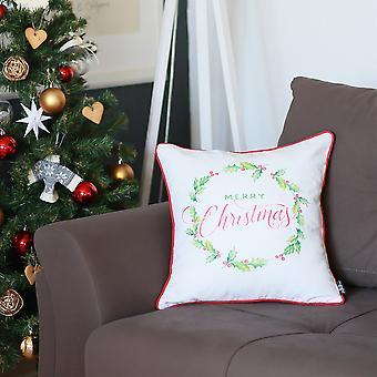 عيد الميلاد النباتات سكوير 18 & نقلا عن; رمي غطاء وسادة