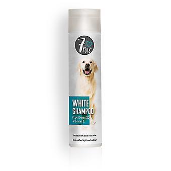 SCHOPF 7Pets® والشامبو الأبيض، 250 مل
