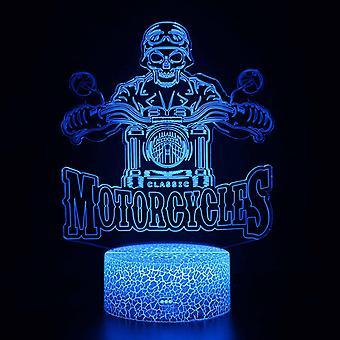 3D Touch Light Night 7 kleuren afstandsbediening - Moto #1209