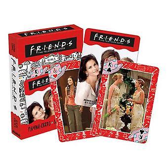 Ystävät - tytöt pelaavat korttia