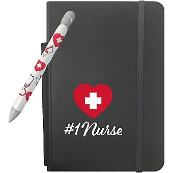 """331, Greeting Pen #1 Nurse Gift Set With 5"""" X 8.25"""" Notebook And 1 Rotating Message Pen (331)"""
