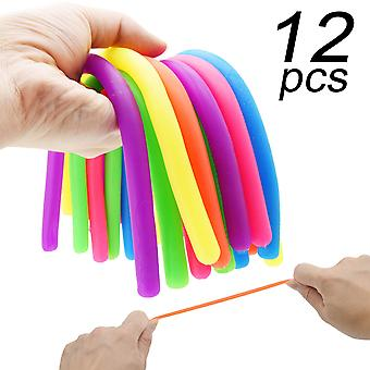 Enthur dehnbare String Fidget sensorische Spielzeuge bauen Widerstand Squeeze Pull - gut für Kinder mit Zusatz, ein