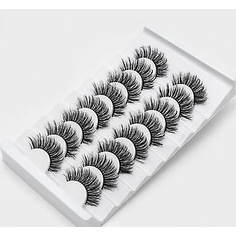 Natural, 3d, Eyelashes Extension-full Strip