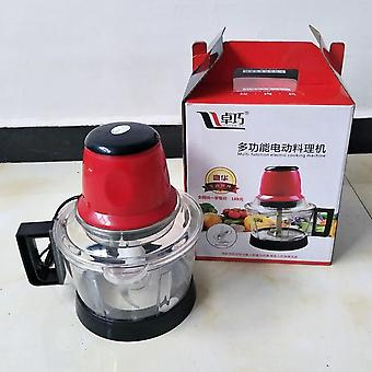 Meat Grinder Spice Garlic Chopper Electric Automatic Mincing Machine, Food