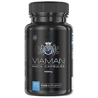 Organic Male Endurance and Stamina Capsules - Powerful 5000mg Stimulant - Herbal Male Enhancement Capsules For Performance And Drive - 90 Capsules
