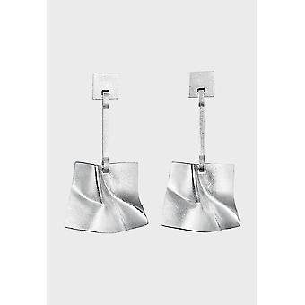 Kalevala Earrings Women's Galactic wind Silver 2651030T