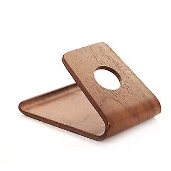 Bent Polywood Smartphone Stand