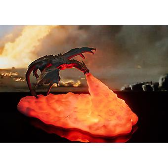 3d Printed Fire-breathing Dragon Lamp Home Creative Night Light  Led
