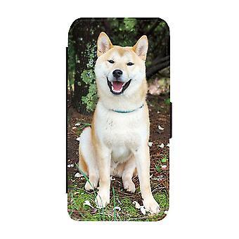 Skrattande Hund iPhone 12 Mini Plånboksfodral