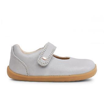 BOBUX Mary Jane Shoe Silver Shimmer