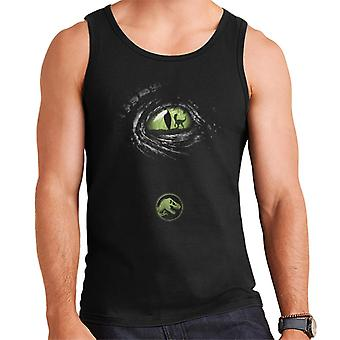 Jurassic Park Velociraptor Eye Men's Vest