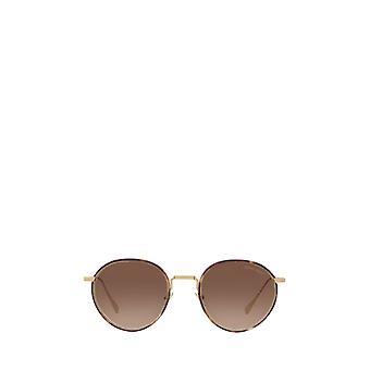 Giorgio Armani AR6103J óculos de sol unissex de ouro pálido