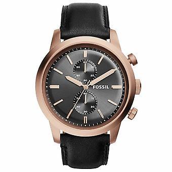 Fossil FS5097 Townsman Chronograph Gunmetal Dial Men's Watch
