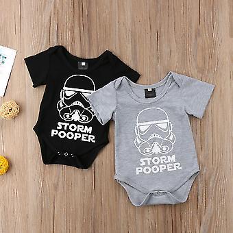 Maneca scurta, Bumbac-star Wars Nou-născut Baby Rompers