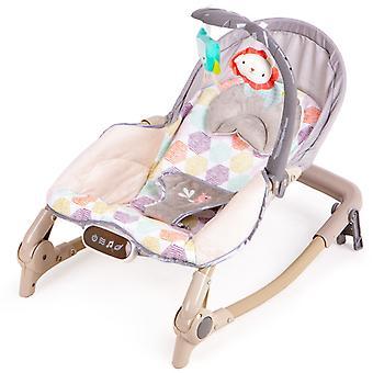 Schaukelstuhl - Schaukelstuhl Baby - mit Playbow - braun