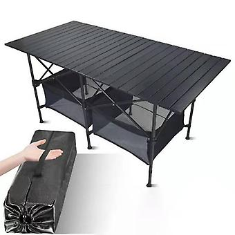 New Outdoor Folding Camping Aluminum Alloy Bbq Picnic Waterproof Durable