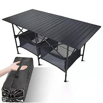 Uusi ulkona taittuva camping alumiiniseos Bbq Piknik Vedenpitävä Kestävä