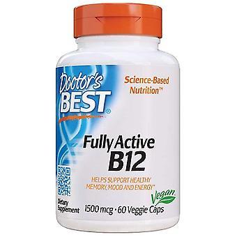 Doctor's Best Fully Active B12 Veggie Caps