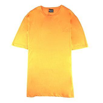 Armani Jeans  Train Basic Logo S/s T Shirt Orange