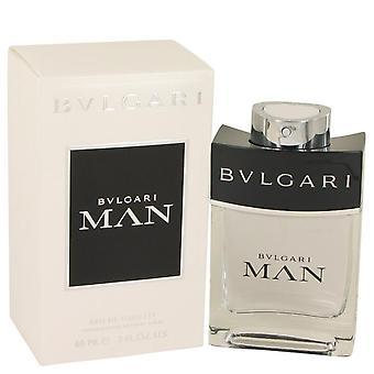 Bvlgari Man Eau De Toilette Spray By Bvlgari 2 oz Eau De Toilette Spray
