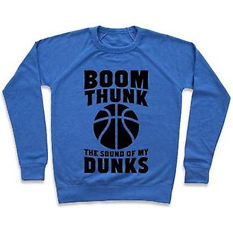 Boom, thunk, the sound of my dunks crewneck sweatshirtvz46771