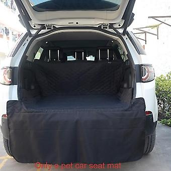 Waterproof Oxford Pet Carriers Dog Car Seat Cover, Trunk Mat, Collapsible
