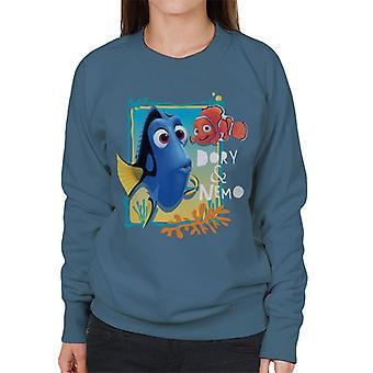 Pixar Finding Dory Nemo En Dory Women's Sweatshirt
