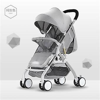 5.9kg Super Light Baby Stroller Single Pram Folding Car Umbrella Aluminum Alloy