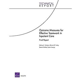 Outcome Measures for Effective Teamwork in Inpatient Care by Melony E