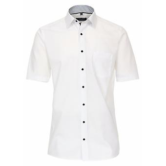 CASA MODA Casa Moda Plain Formal Short Sleeve Shirt