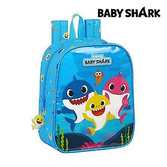 Child bag baby shark paler blue