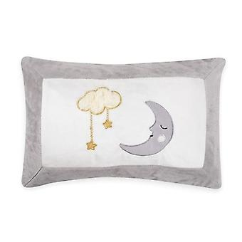 Moon And Stars Pillow Decorative Applique Pillow