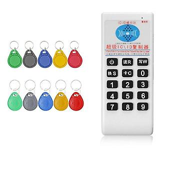 Rfid Handheld 125khz To 13.56mhz Copier Duplicator Cloner Card Reader & Writer
