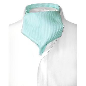 Antonio Ricci ASCOT Cravat Solid ribbade mönster mäns hals slips
