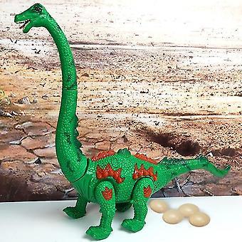 Suurikokoinen valoprojektio ylös valovoimainen elektroninen kävelyrobotti dinosaurus