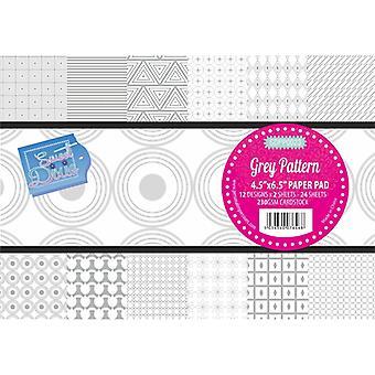 Sweet Dixie - Grey Pattern Paper Pad