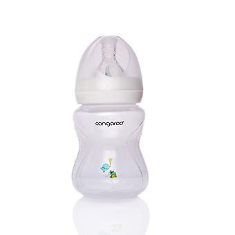 Nappflaska, dricksflaska C0562 Birdy 180 ml pojke silikon dammsugare storlek 1 från födseln
