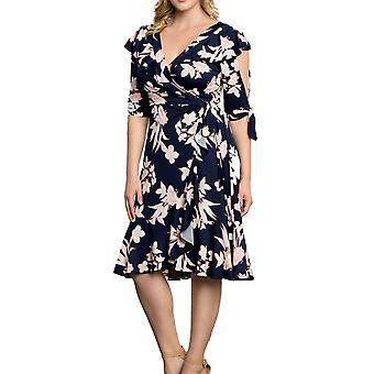 Kiyonna | Winnie Wrap Dress