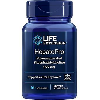 Lebensdauer Verlängerung HepatoPro Mehrfach ungesättigte Phosphatidylcholin 900mg Softgels 60