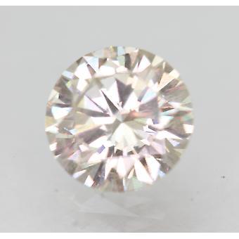 Sertifioitu 0,77 karat I VS2 pyöreä brilliant parannettu luonnollinen löysä timantti 6,1mm