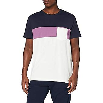 edc by Esprit 050CC2K322 T-Shirt, of White 2 (111), XXL Men