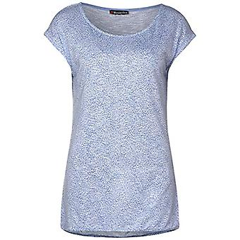 Street One 314872 T-Shirt, Steam Blue, 36 Woman
