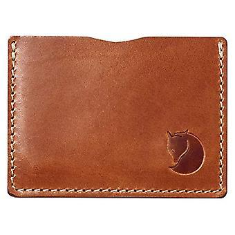 Fjällräven ovik kortin haltija luottokortin haltija, 15 cm, ruskea (nahkakonjakki)