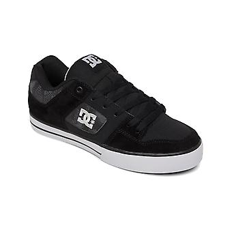 DC Pure Trainers in Black/Grey