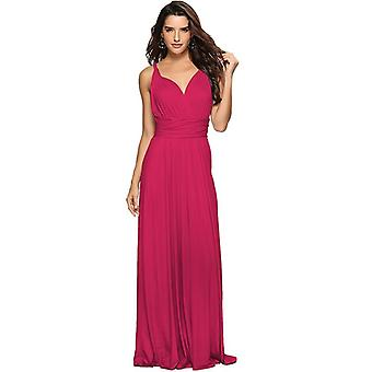 New Wedding Bridesmaid Party Wear More Open Back Sexy Dress