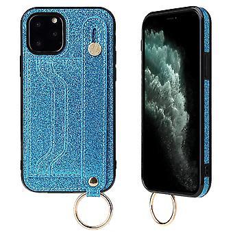 サムスンs20プラス青いpns-591のための革財布ケース